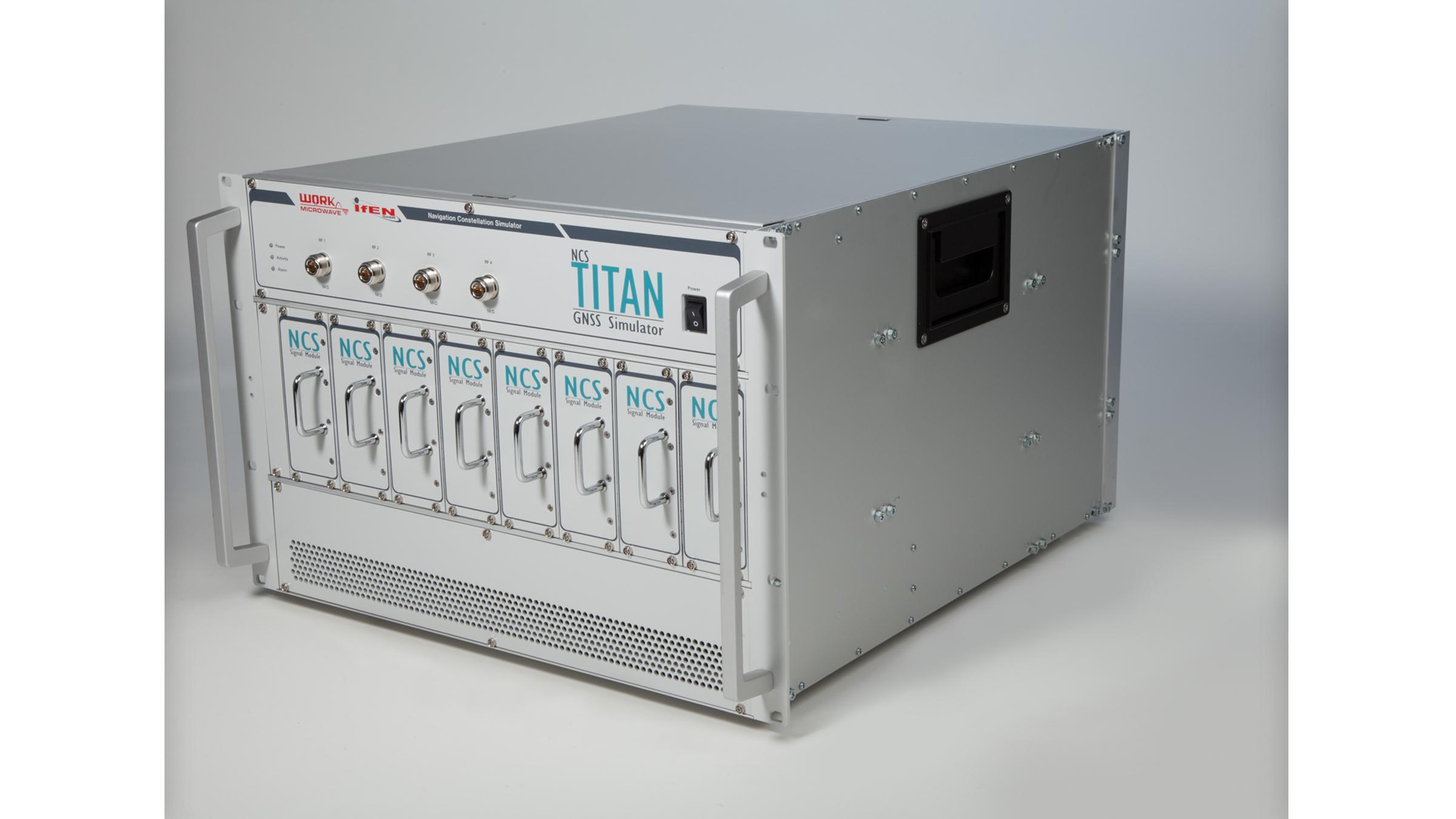 NCS Titan GNSS Simulator